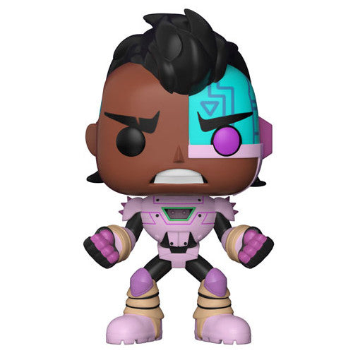 Funko POP! Television Teen Titans Go! The Night Begins to Shine S1 Cyborg Vinyl Figure | Woozy Moo