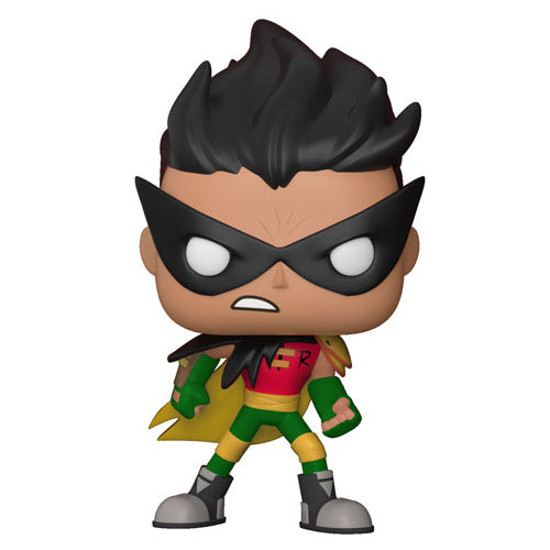 Funko POP! Television Teen Titans Go! The Night Begins to Shine S1 Robin Vinyl Figure | Woozy Moo