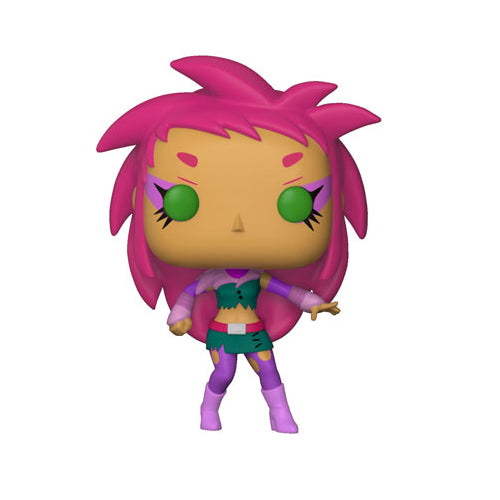 Funko POP! Television Teen Titans Go! The Night Begins to Shine S1 Starfire Vinyl Figure | Woozy Moo