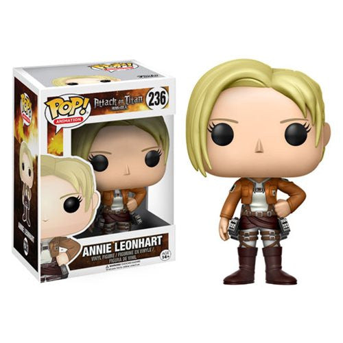 Annie Leonhart - Attack on Titan (Shingeki no Kyojin) - Pop! Vinyl Figure - Funko - Woozy Moo