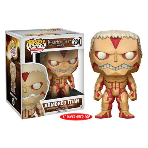"Armored Titan - Attack on Titan (Shingeki no Kyojin) - 6"" super-sized Pop! Vinyl Figure - Funko - Woozy Moo"