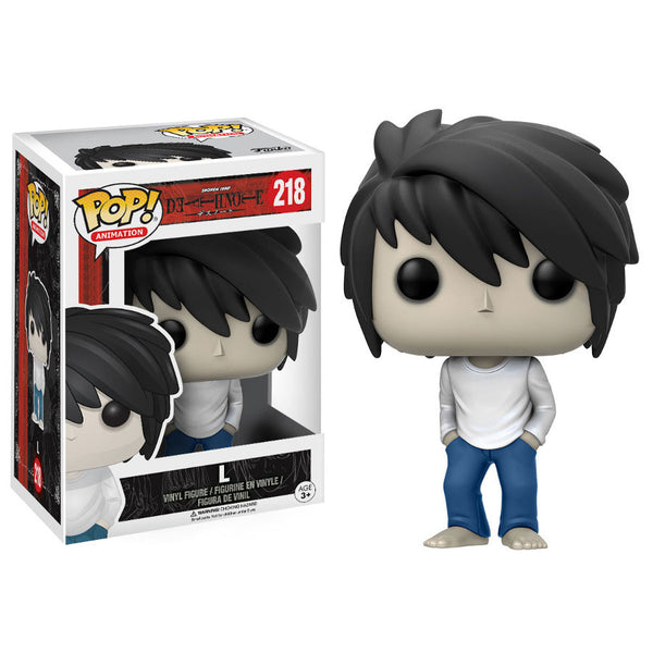 L. Lawliet - Death Note - Pop! Animation Vinyl Figure - Funko - Woozy Moo