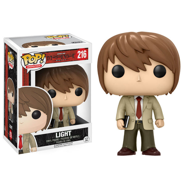 Light Yagami (夜神 月 Yagami Raito) - Death Note - Pop! Animation Vinyl Figure - Funko - Woozy Moo