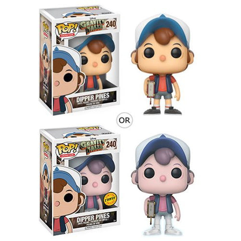 Disney - Gravity Falls - Dipper Pines with chase Pop! Animation Vinyl Figure