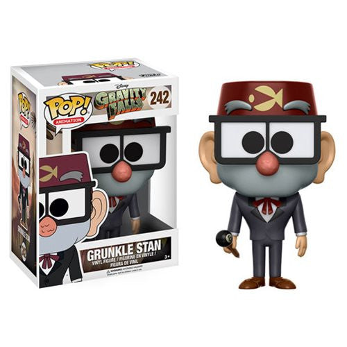 Disney - Gravity Falls - Grunkle Stan Pop! Animation Vinyl Figure - Funko - Woozy Moo