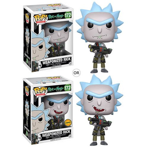 Rick and Morty - Weaponized Rick - Pop! Animation Vinyl Figure - Funko - Woozy Moo