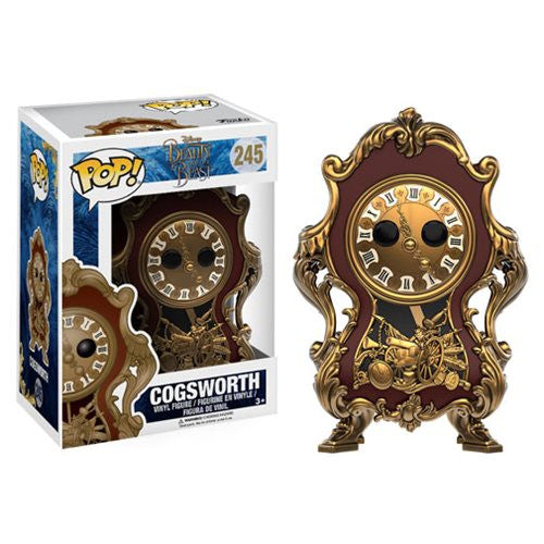 Disney Pop! Vinyl Figure - Beauty and the Beast - Cogsworth - Funko - Woozy Moo