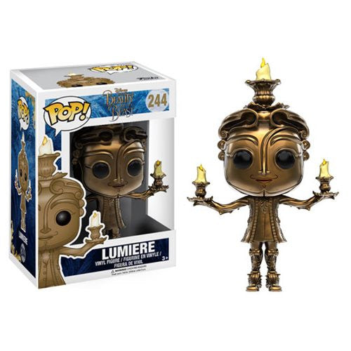 Disney Pop! Vinyl Figure - Beauty and the Beast - Lumiere - Funko - Woozy Moo