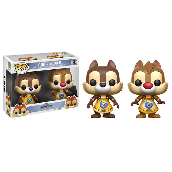Disney Pop! Vinyl Figures - Kingdom Hearts - Chip and Dale 2-pack - Funko - Woozy Moo