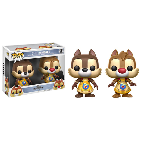 Disney Pop! Vinyl Figures - Kingdom Hearts - Chip and Dale 2-pack