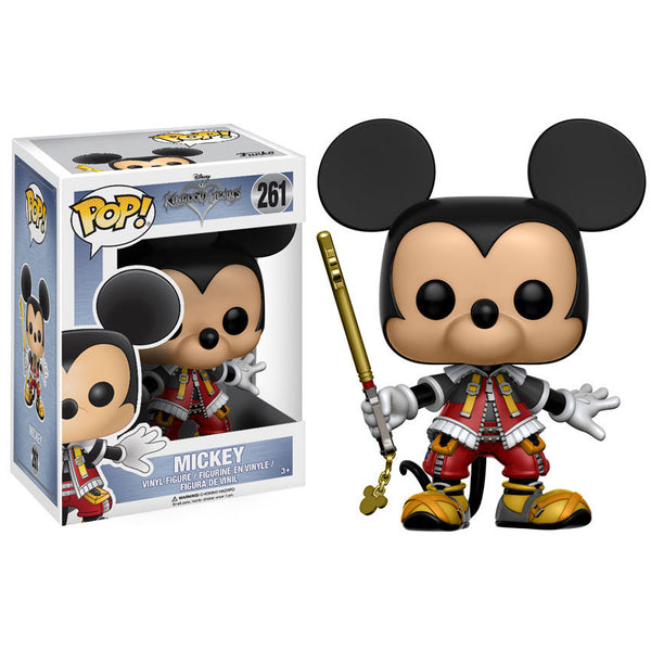 Disney Pop! Vinyl Figure - Kingdom Hearts - Mickey - Funko - Woozy Moo