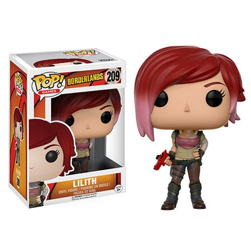 Lilith the Siren - Borderlands - Pop! Games Vinyl Figure - Funko - Woozy Moo