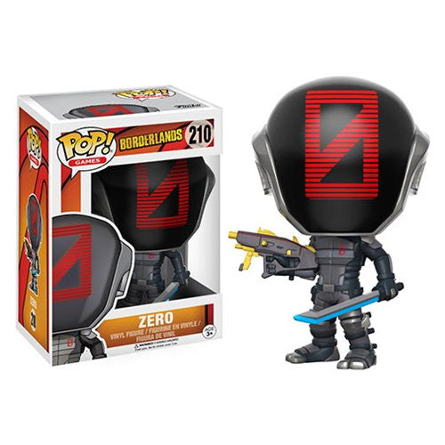Zer0 (Zero) - Borderlands - Pop! Games Vinyl Figure - Funko - Woozy Moo