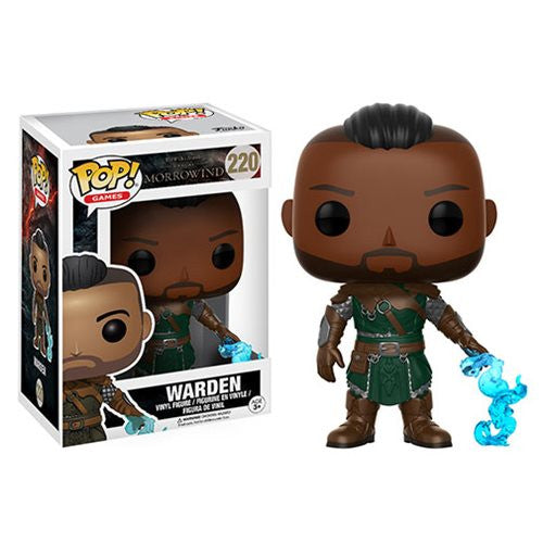 Warden - The Elder Scrolls III: Morrowind - Pop! Games Vinyl Figure - Funko - Woozy Moo