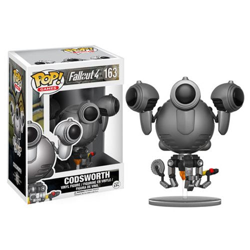 Pop! Games: Fallout - Codsworth Vinyl Figure - Funko - Woozy Moo