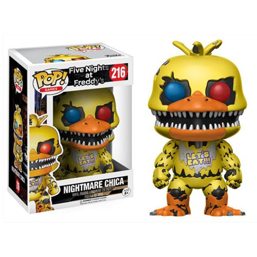 Nightmare Chica - Five Nights at Freddy's - Pop! Vinyl Figure - Funko - Woozy Moo