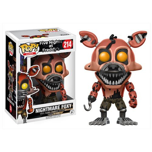 Nightmare Foxy - Five Nights at Freddy's - Pop! Vinyl Figure - Funko - Woozy Moo