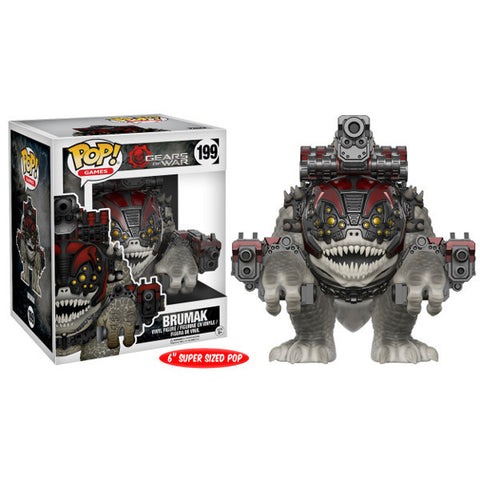 "Brumak Gears of War Pop! Vinyl Figure 6"" Super-Sized"