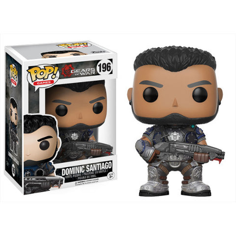 Dominic Santiago Gears of War Pop! Vinyl Figure