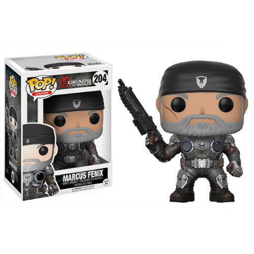 Marcus Fenix (Old Man) - Gears of War - Pop! Vinyl Figure - Funko - Woozy Moo