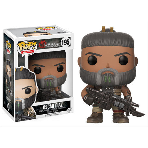 Oscar Diaz - Gears of War - Pop! Vinyl Figure - Funko - Woozy Moo