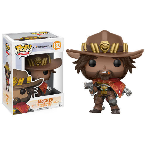 Pop! Games - Overwatch - McCree - Vinyl Figure - Blizzard - Funko - Woozy Moo