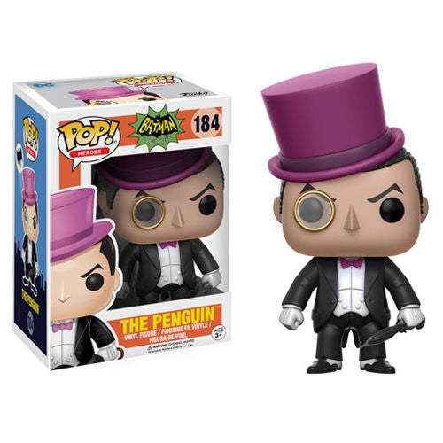 The Penguin (Burgess Meredith) - 1966 Batman TV - Pop! Vinyl Figure - Funko