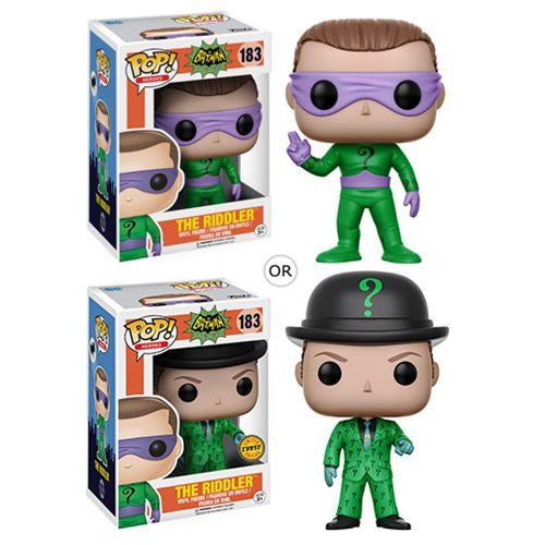 The Riddler (Frank Gorshin) with chase - 1966 Batman TV - Pop! Vinyl Figure - Funko - Woozy Moo