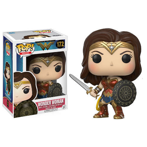 Wonder Woman Pop! Vinyl Figure - DC - Funko - Woozy Moo