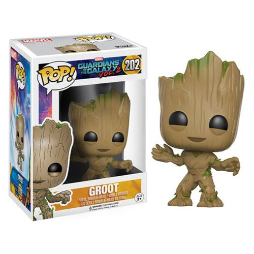 Marvel Guardians of the Galaxy Vol. 2 Pop! Vinyl Bobble-head - Groot - Funko - Woozy Moo