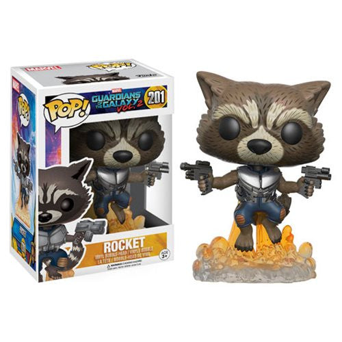Marvel Guardians of the Galaxy Vol. 2 Pop! Vinyl Bobble-head - Rocket Raccoon - Funko - Woozy Moo