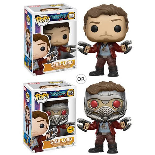Marvel Guardians of the Galaxy Vol. 2 Pop! Vinyl Bobble-head - Star-Lord - Funko - Woozy Moo