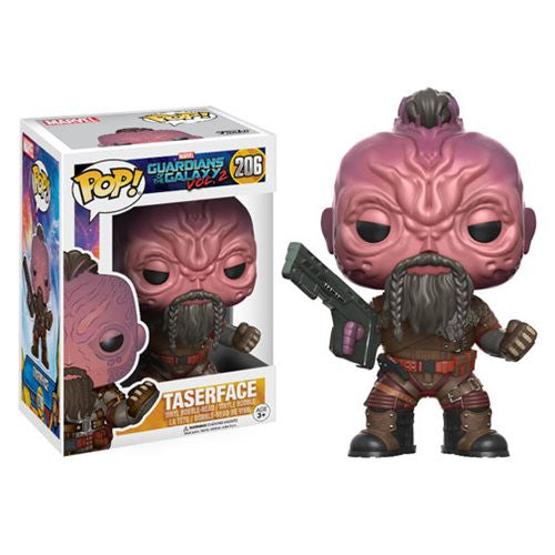 Marvel Guardians of the Galaxy Vol. 2 Pop! Vinyl Bobble-head - Taserface - Funko - Woozy Moo