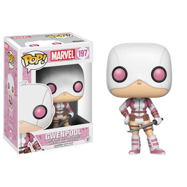 Marvel Pop! Vinyl Bobble-head - Gwenpool - Funko - Woozy Moo