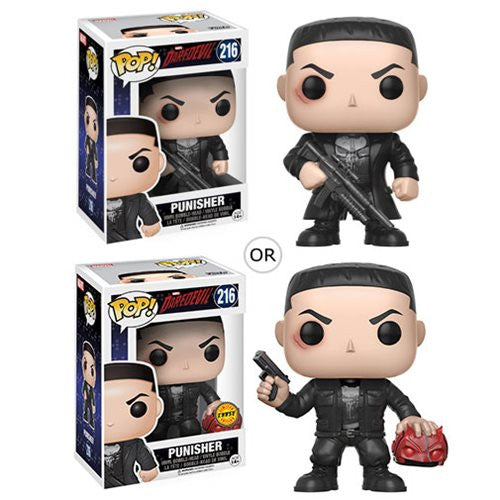 Marvel Pop! Vinyl Bobble-head Daredevil - Punisher - Funko - Woozy Moo