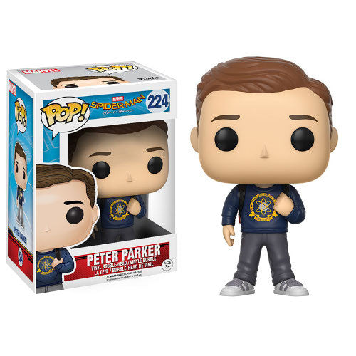 Marvel Spider-Man: Homecoming - Peter Parker Pop! Vinyl Bobble-head - Funko - Woozy Moo