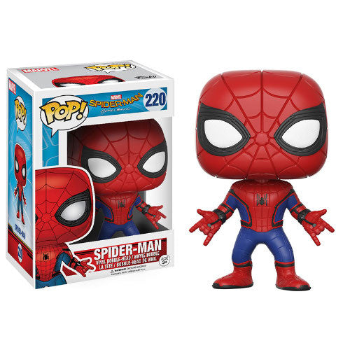 Marvel Spider-Man: Homecoming - Spider-Man Pop! Vinyl Bobble-head - Funko - Woozy Moo