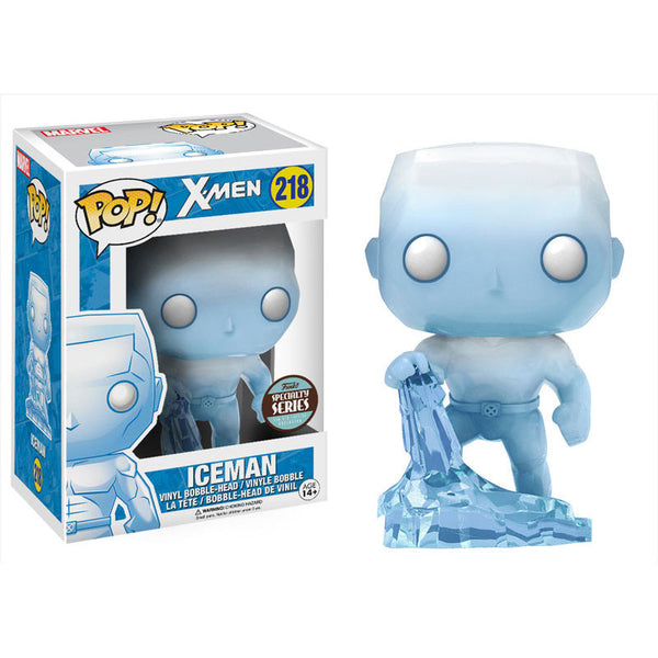 Iceman - Marvel X-Men - Pop! Vinyl Bobble-head - Specialty Series - Funko - Woozy Moo