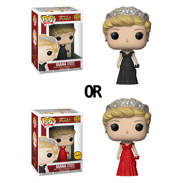 Funko POP! Royals 03 Diana (Princess of Wales) Vinyl Figure | Woozy Moo