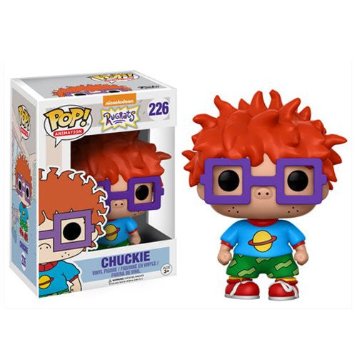 Chuckie - Nickelodeon Rugrats - TV Animation Pop! Vinyl Figure - Funko - Woozy Moo