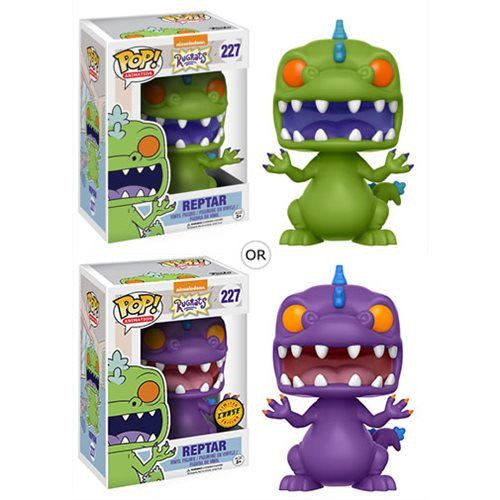 Reptar with chase - Nickelodeon Rugrats - TV Animation Pop! Vinyl Figure - Funko - Woozy Moo