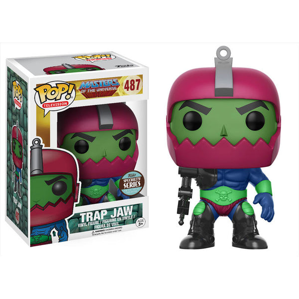 Masters of the Universe - Trap Jaw - Pop! Television Vinyl Figure Exclusive