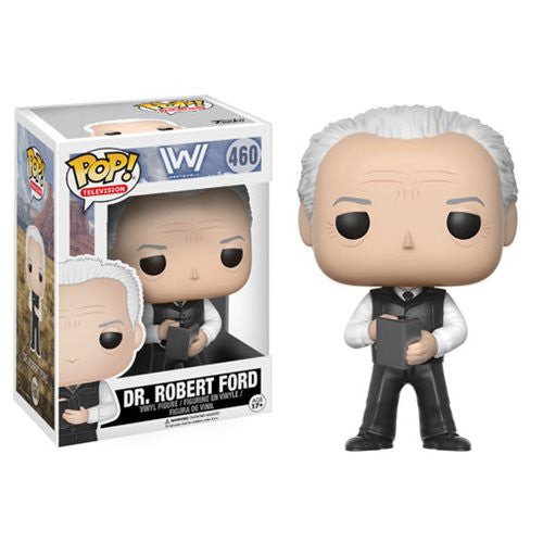 Westworld - Dr. Robert Ford - Pop! TV Vinyl Figure - Funko - Woozy Moo