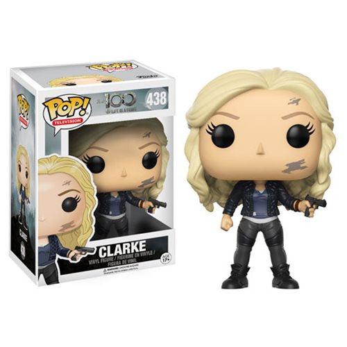 Pop! TV - The 100 - Clarke - Vinyl Figure - Funko - Woozy Moo