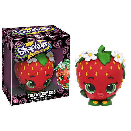 Shopkins - Strawberry Kiss Vinyl Collectible - Funko - Woozy Moo