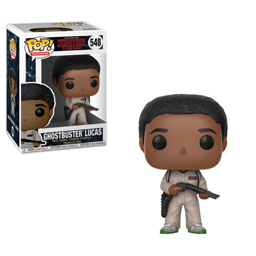 Ghostbuster Lucas Sinclair (Caleb McLaughlin) | Stranger Things (Netflix TV) | POP! Television Vinyl Figure 548 | Funko | Woozy Moo