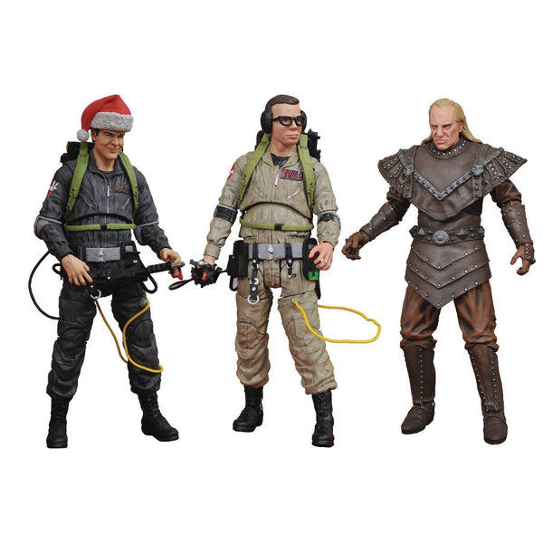 Ghostbusters Series 6 Assortment Set of 3 - Ghostbusters II (1989) - Select Action Figures - Diamond Select Toys / Gentle Giant Studios - Woozy Moo
