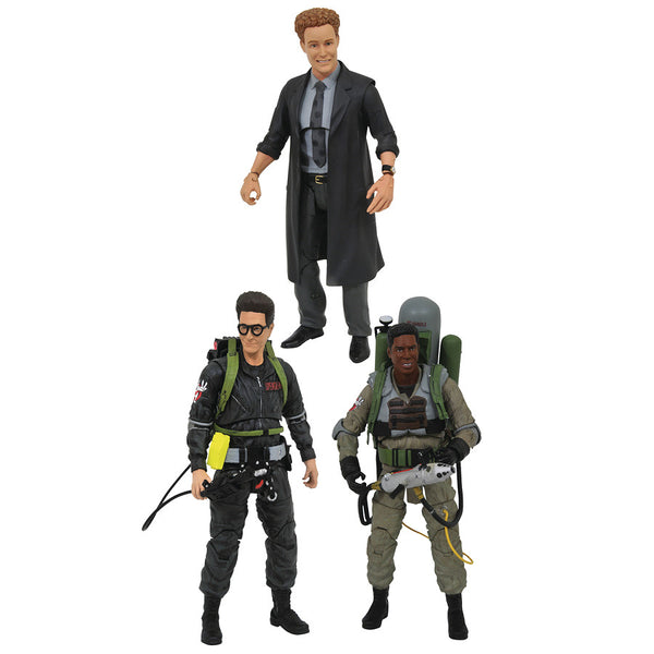 Ghostbusters Series 7 Assortment Set of 3 | Ghostbusters II (1989) | Select Action Figures | Diamond Select Toys / Gentle Giant Studios | Woozy Moo
