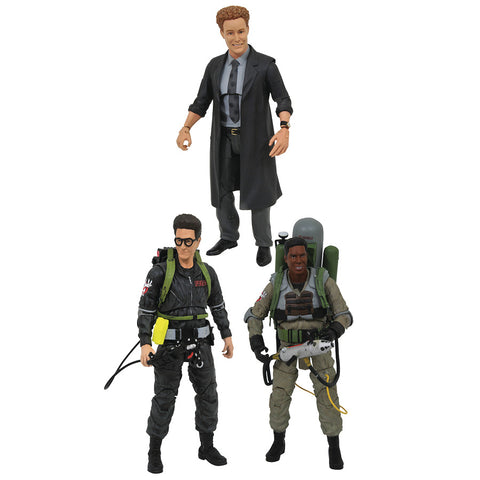 Ghostbusters Series 7 Select Action Figures Set of 3