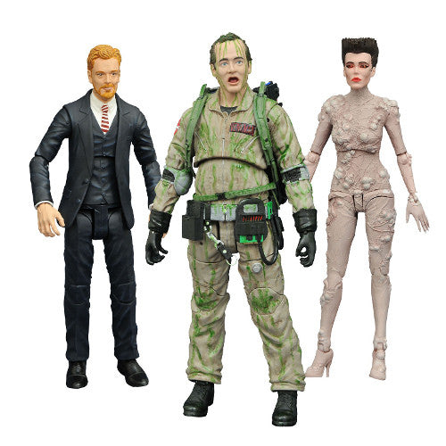 Ghostbusters Select Action Figures Series 4 Set - Diamond Select - Woozy Moo